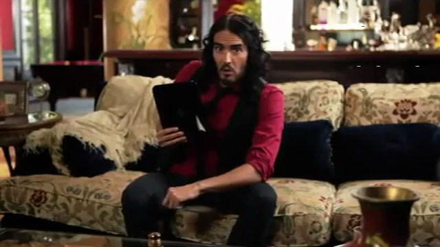 HP Touchpad with Russell Brand