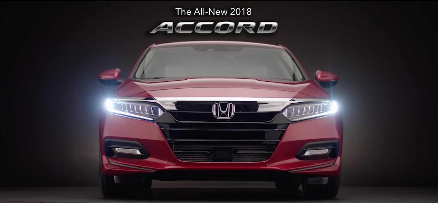 2018 Honda Accord (Studio Footage)